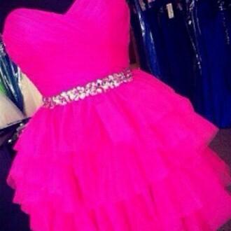 dress pink dress my silk fairytale gliter belt