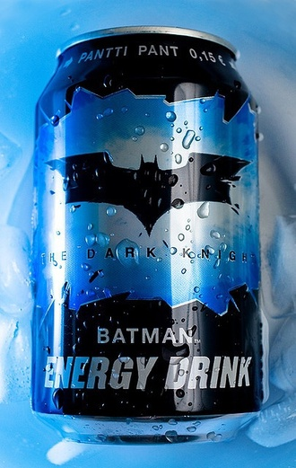 home accessory energy drink batman food