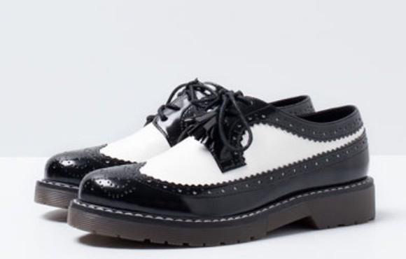 girly style fashion lovely pepa shoes black white