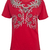 Camiseta Andrea Bogosian Impious Vermelha - Compre Agora | Dafiti
