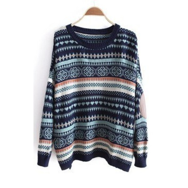 Vintage Hipster Sweater by KneeDeepDenim on Etsy