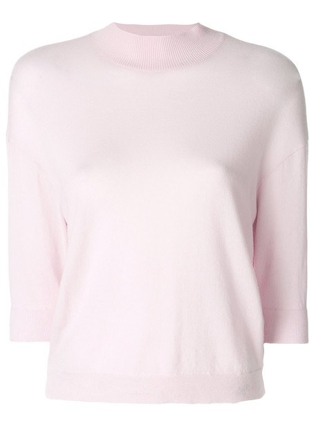 jumper women purple pink sweater