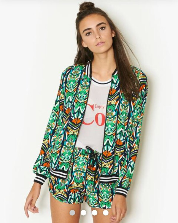 jacket african print two-piece baseball jacket spring jacket