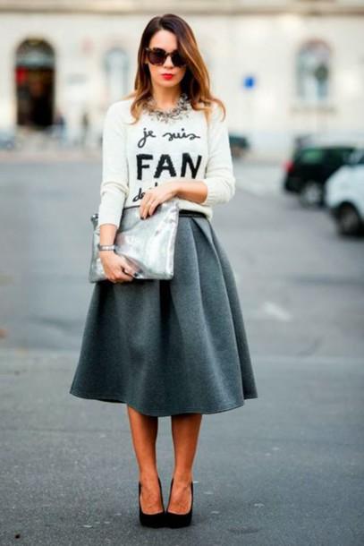 0d0bd91229 skirt, wool skirt, wool midi skirt, wool, midi skirt, pumps ...