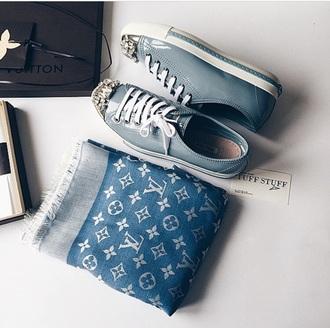 shoes blue sneakers miu miu 2015 fashion need this so muh