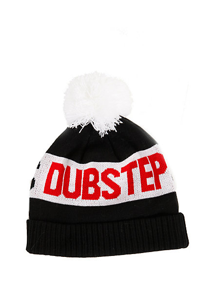 Sex, Drugs & Dubstep Pom Beanie | Hot Topic