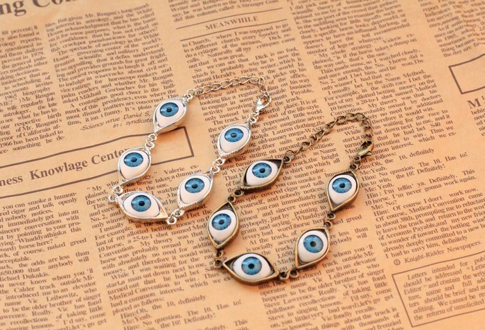 Fahion Vintage eye bracelet for women punk bracelet 2013 jewelry-in Cross Jewelry from Jewelry on Aliexpress.com