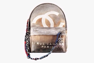 bag chanel inspired bookbag