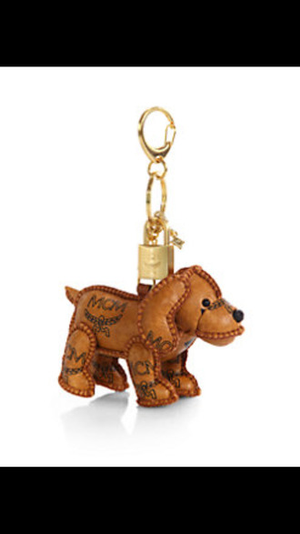 keychain dog jewels