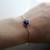Lapis Lazuli Bezel Style Bangle                           | Saressa Designs