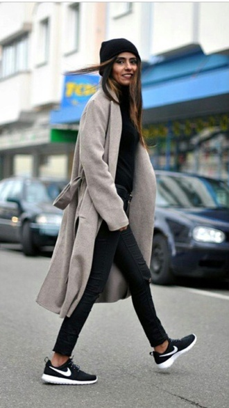 coat trench coat winter coat jacket warm burberry zara jacket beige jacket trench jacket long coat waist belt