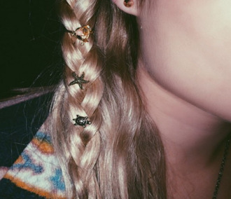 hair accessory hair mermaid turtle stars dolphin clip hair braid jewels nina nesbitt