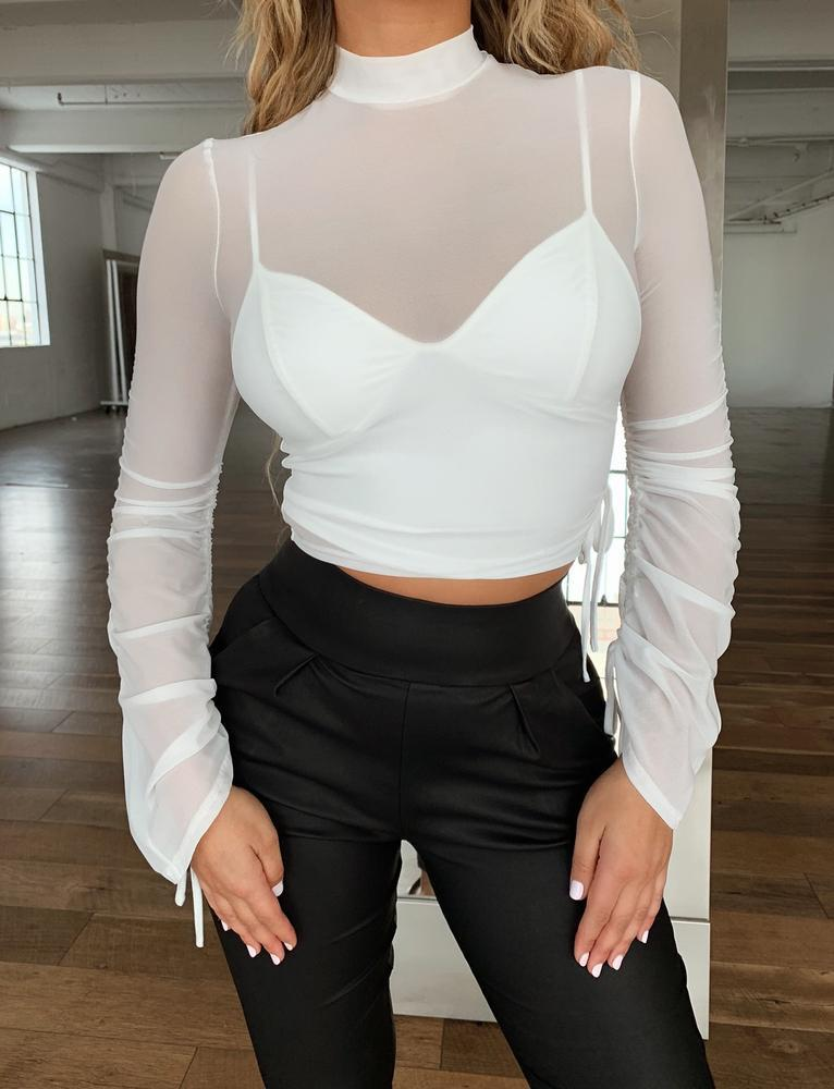 Mattie Top - White - S WHITE