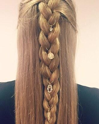 hair accessory braid hair rings hairstyles