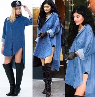 dress denim denim shirt shirt dress