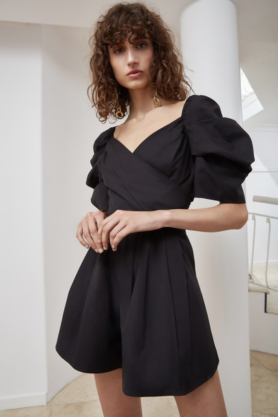 C/MEO COLLECTIVE black romper