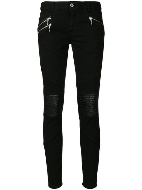 just cavalli jeans women spandex cotton black