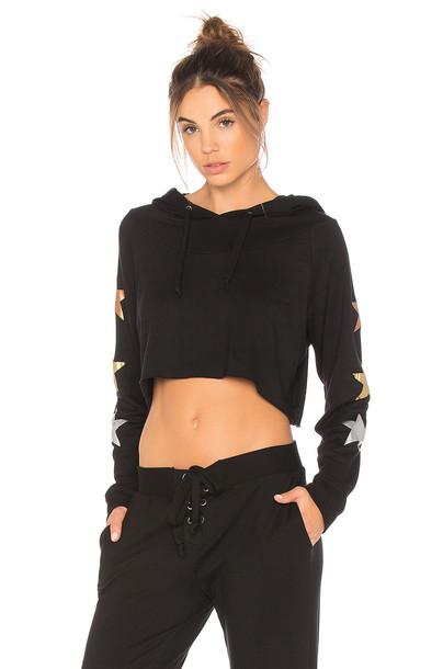 strut-this hoodie black sweater