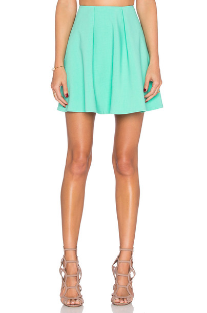 Likely skirt green