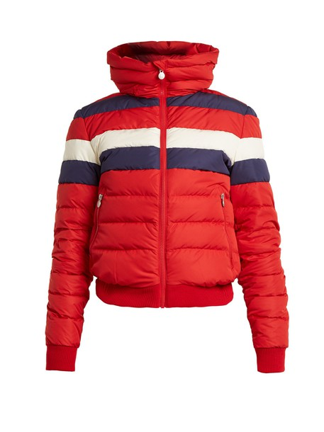 Perfect Moment jacket quilted red