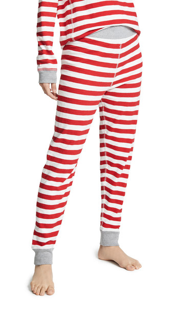 Sleepy Jones Helen Leggings in red