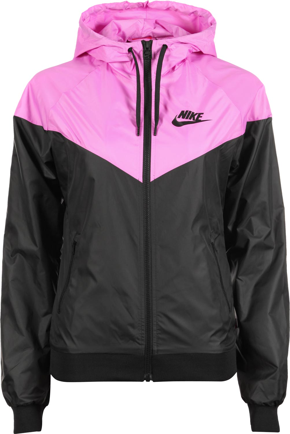 check out a78e4 f8f85 Nike Windrunner W jacket black pink