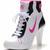 white pink black dunk sb mid heels womens