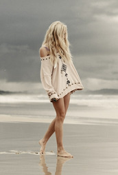 blouse,spell,sweater,loose fit sweater,dress,cute print,shirt,boho,beach,tribal pattern,oversized,cream,bohemian,oversized white sweater,pink,long,embroidered,hippie,aztec,indie,90210,ivy sullivan,off the shoulder sweater,clothes,pinterest,tribal sweater,boho sweater,hippie sweater,country sweater,tribal cardigan,boho chic,hippie chic,country style,country,off the shoulder