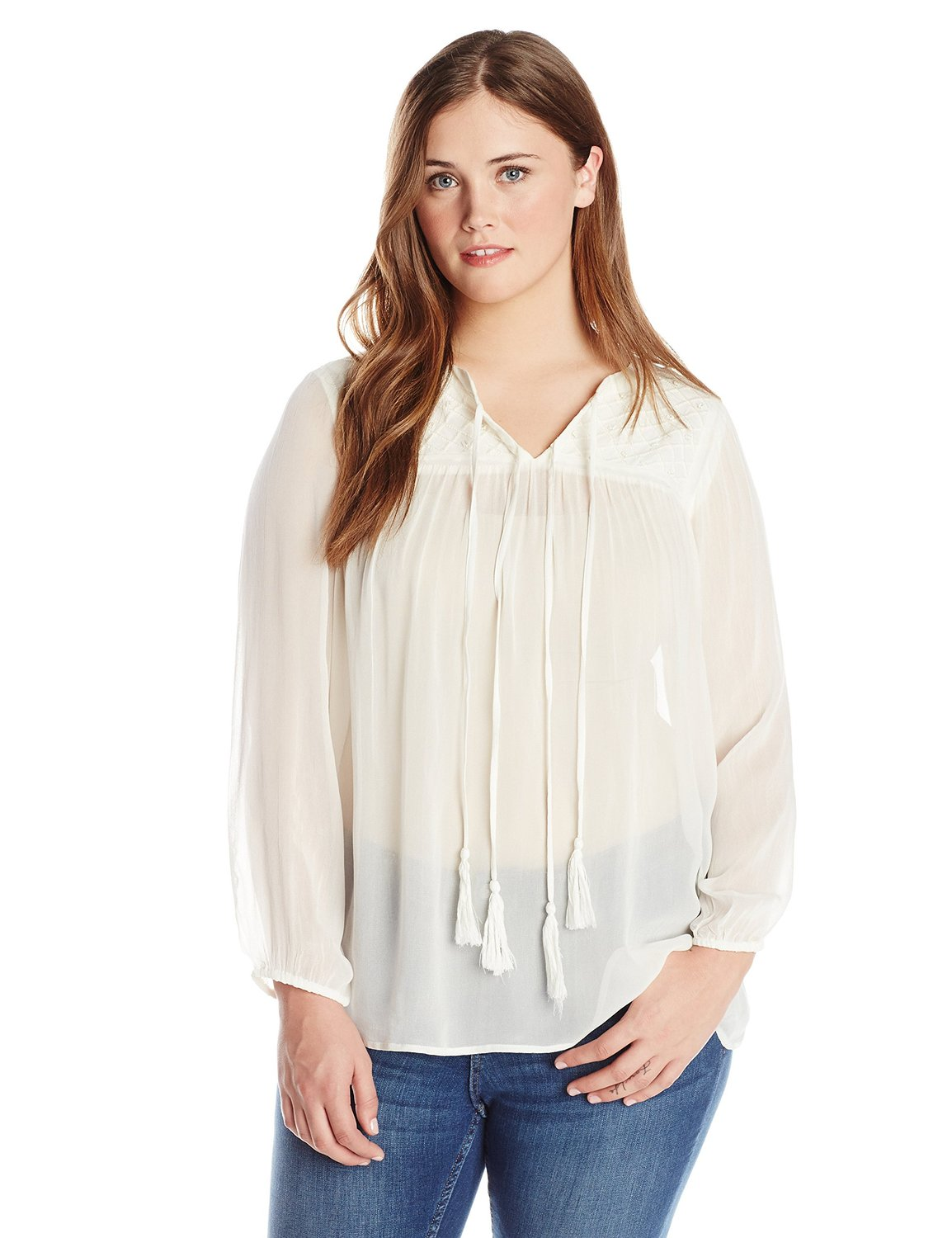 Size ivory tassle top at amazon women's clothing store: