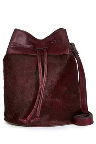 Buy Leather And Pony Small Duffle Bag from the Next UK online shop