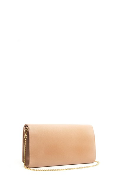 Prada clutch pink bag