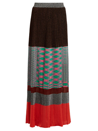 skirt maxi skirt maxi pleated knit
