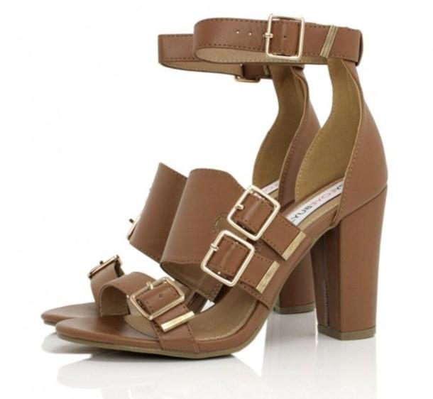 shoes brown shoes high heels cute cute high heels
