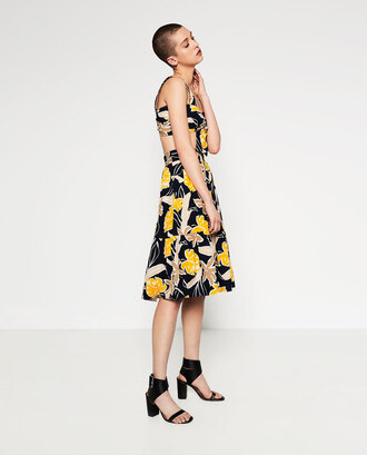 skirt matching set summer outfits floral bright midi skirt floral midi skirt top
