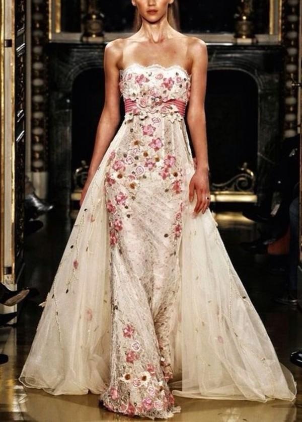 dress prom dress cute dress flowers summer dress