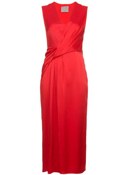 jason wu dress women red