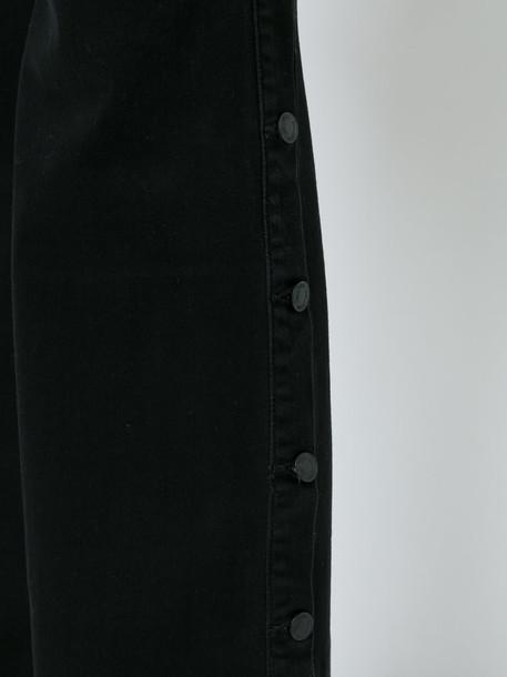 jeans women spandex cotton black 24