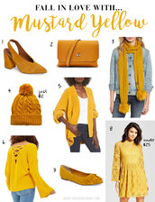 thebudgetbabe,blogger,shoes,bag,scarf,hat,cardigan,sweater,dress,yellow dress,yellow shoes,yellow bag,winter outfits,fall outfits