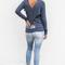 Chaser mimosas dogs and sweatpants avalon cross back top