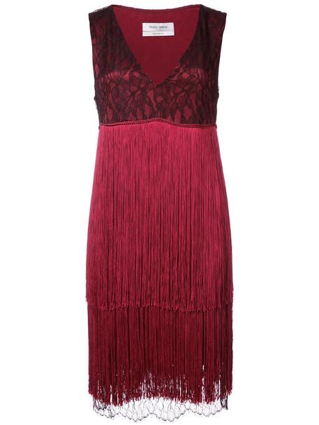 Prabal Gurung dress women silk red