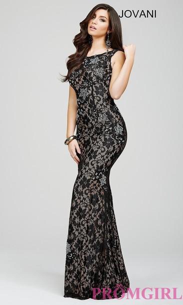 dress lace dress evening dress jovani prom dress events long evening dress