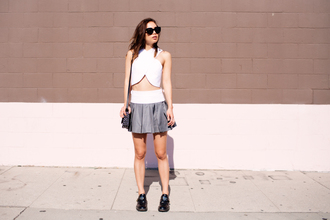 shoes top fashion toast skirt bag