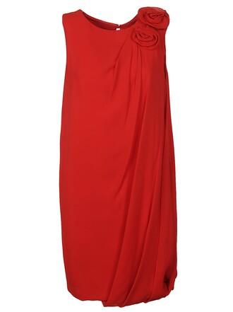 dress draped dress draped roses