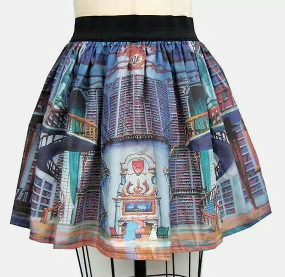 disney belle skirt library