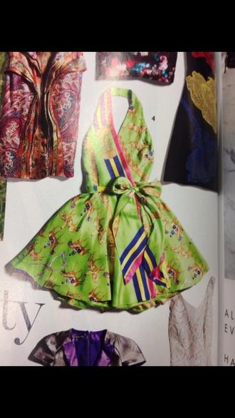 lana del rey ralph lauren green dress horses ss