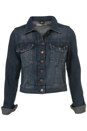 Denim Western Style Jacket - Denim Jackets - Jackets & Coats  - Clothing - Topshop
