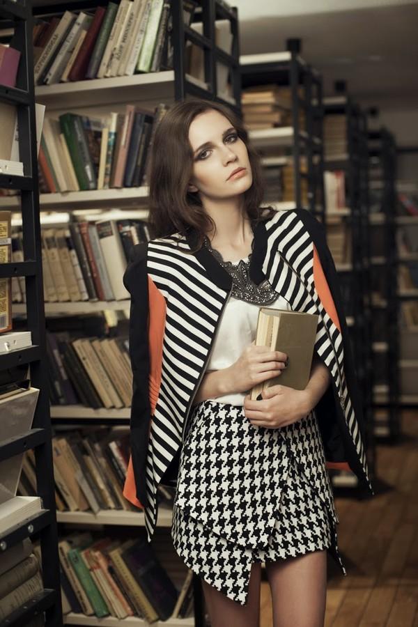 oh my blog t-shirt skirt jacket jewels