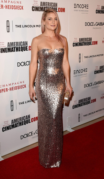 dress prom dress gown glitter dress glitter sparkly dress kate hudson
