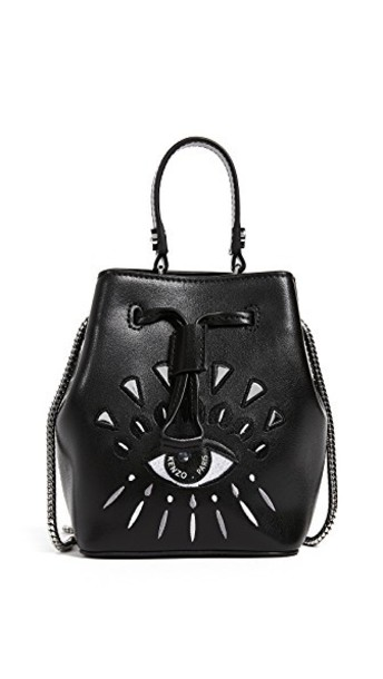 mini bag bucket bag black