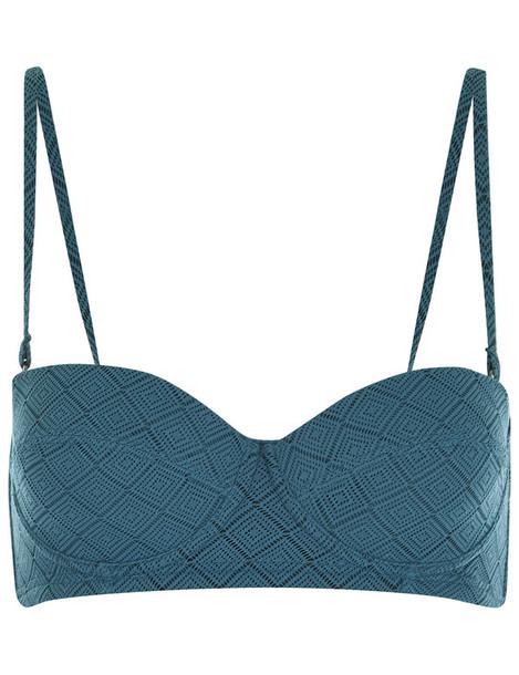 Prism bikini bikini top teal green